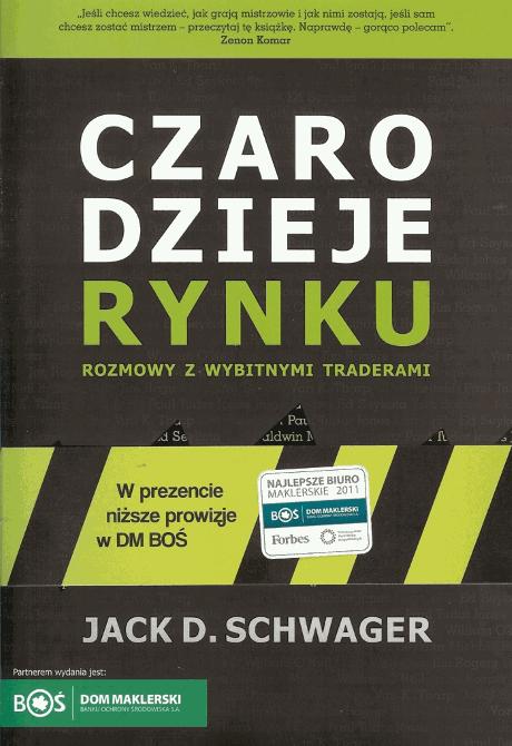 """Czarodzieje rynku"""" – Jack D. Schwager - Najlepsze książki o inwestowaniu - Nowe i kultowe + kolejność"""