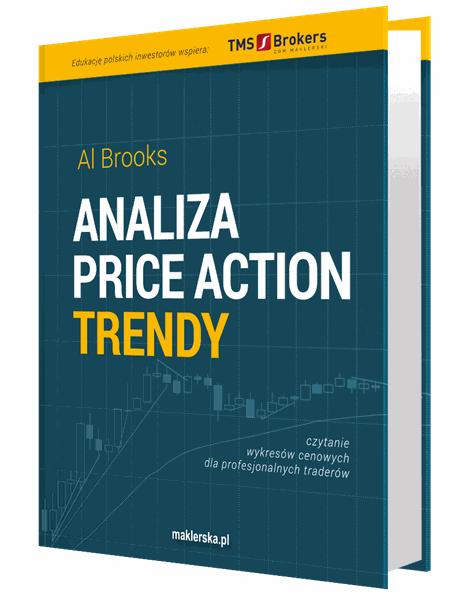 """Analiza price action trendy"""" – Al Brooks - Najlepsze książki o inwestowaniu - Nowe i kultowe + kolejność"""