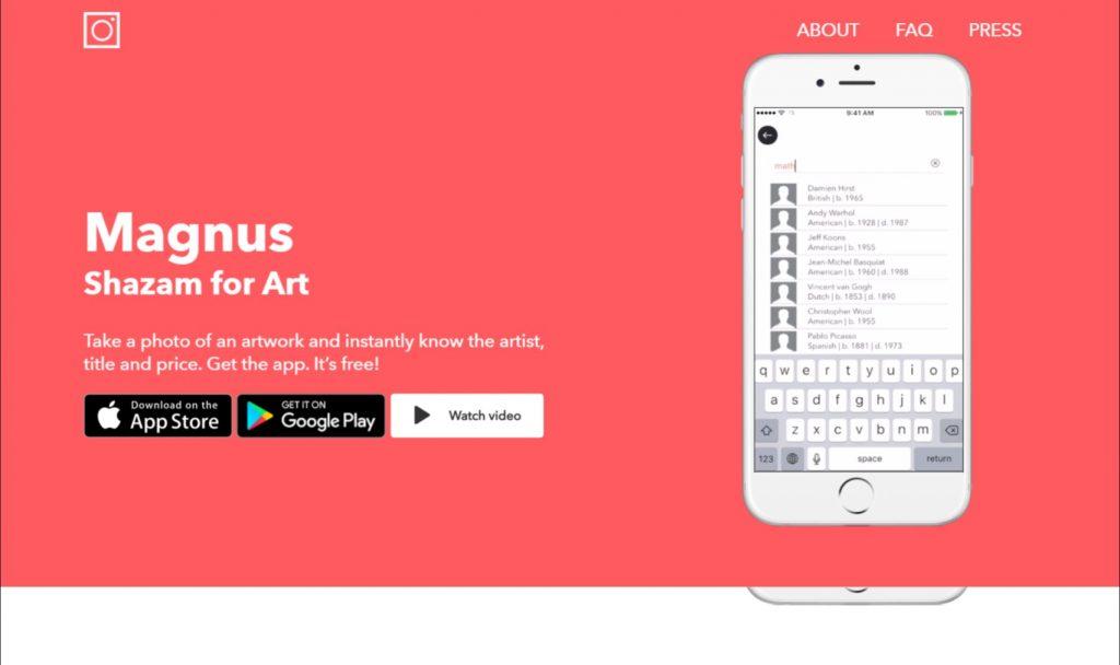 Aplikacja do wyceny obrazów na telefon.