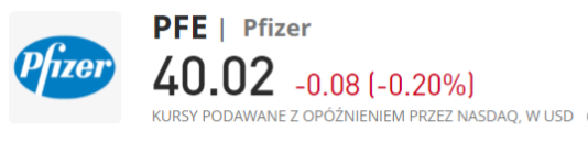 Pfizer kup - Inwestowanie w akcje spółek sektora medycznego - informator 2021