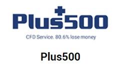 Plus500 logo - eToro czy Plus500 - którego brokera Forex wybrać?