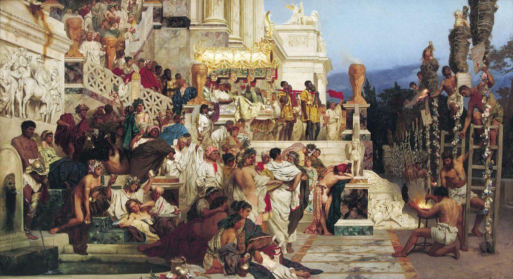 W których malarzy warto Inwestować - Pochodnie Nerona