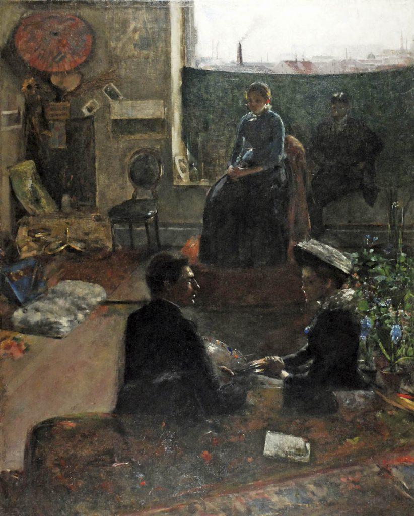W których malarzy warto Inwestować - W Atelier