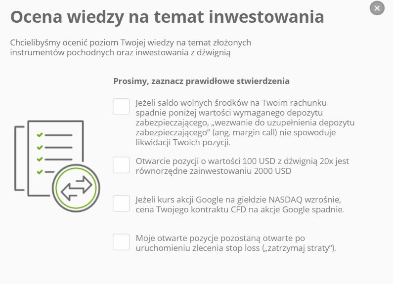 bezpieczenstwo ocena wiedzy inwestora etoro - Czy eToro jest bezpieczne? Poznajemy brokera w praktyce