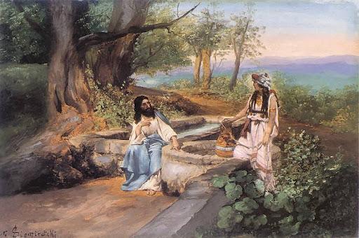 W których malarzy warto Inwestować - Chrystus i samarytanka
