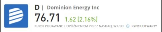 dominion energy logo - 2 Niedoceniane Spółki z solidnymi dywidendami na 2021