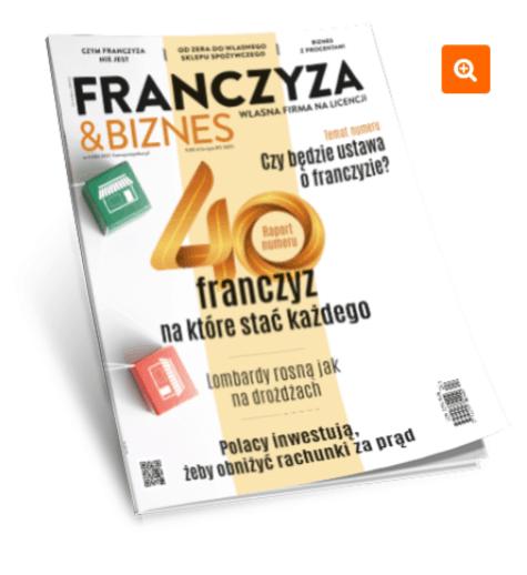 czym jest franczyza - magazyn