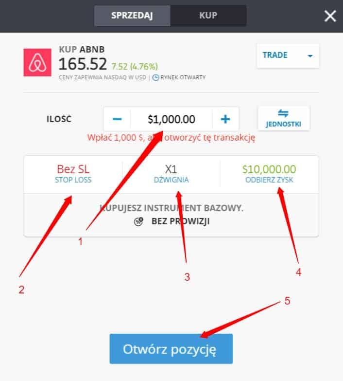 jak kupic akcje Airbnb - Jak kupić akcje Airbnb: Inwestowanie w ABNB z prowizją 0%