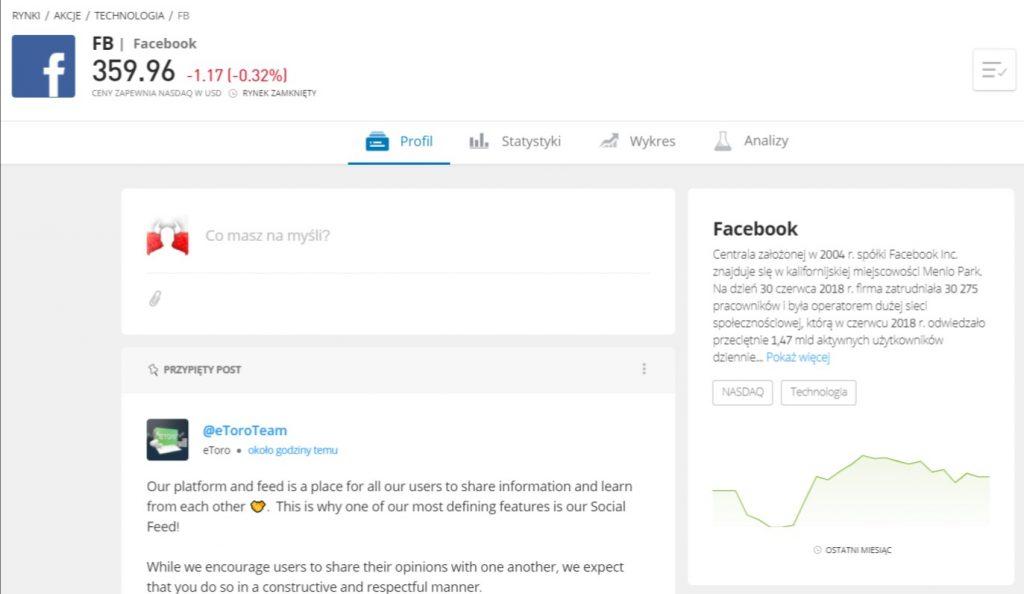 jak kupic akcje facebooka strona glowna - Jak kupić akcje Facebooka: Inwestuj w FB z prowizją 0%