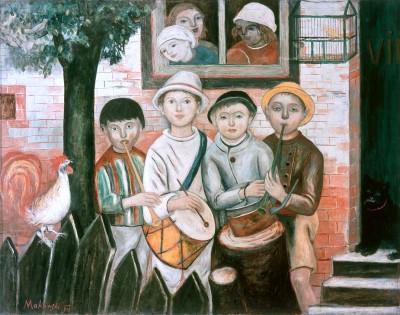W których malarzy warto Inwestować - Kapela dziecięca