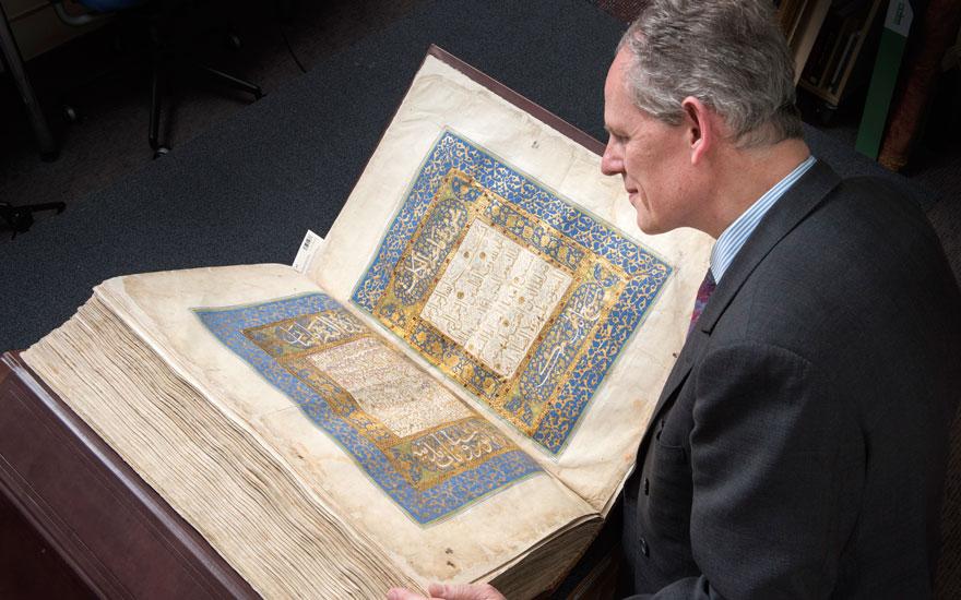 inwestowanie w książki - koran na aukcji christies