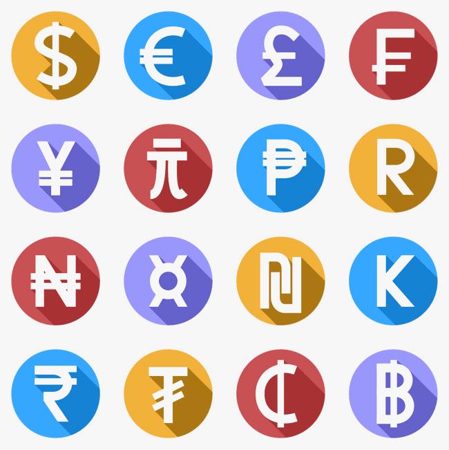 najwazniejsze waluty swiata - symbole