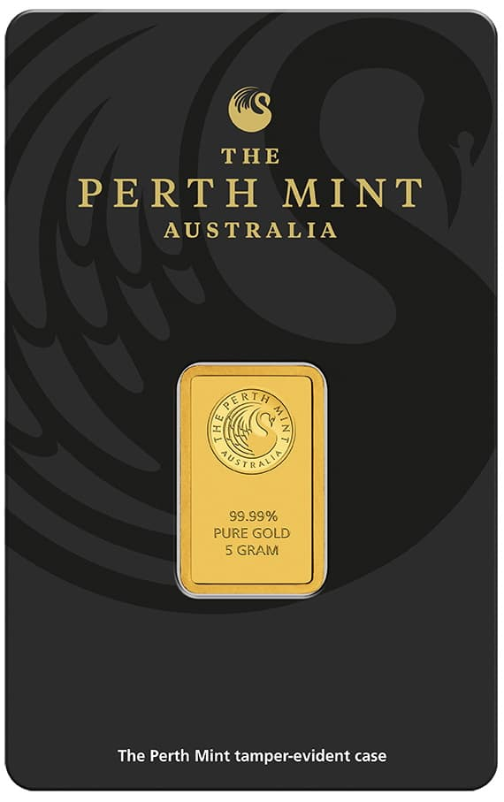 Perth Mint - kupowanie złota w sztabkach