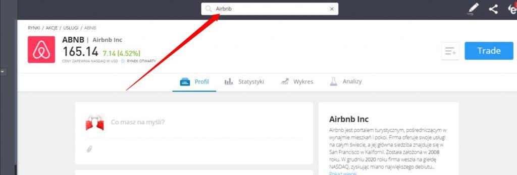 wyszukiwarka etoro - Jak kupić akcje Airbnb: Inwestowanie w ABNB z prowizją 0%